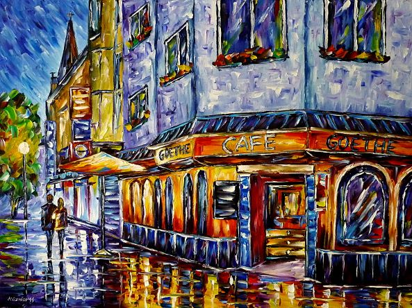 oilpainting,modern,impressionism,artdeco,abstractpainting,streetcafe,cafeintheevening,cafeatnight,eitorf,rheinland,germanvillage,villagecafe,villageintheevening,villageatnight,villagescene,lovecouple,lovers,walkinghandinhand,cafepainting,foodanddrink,3dpainting,3doilpainting,3dpicture,3dimage,3dartwork,lively,colorful