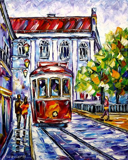 loversinlisbon,walkinghandinhand,citywalk,tram,cablecar,cityscene,cityscenery,oldlisbon,narrowalleys,colorfullisbon,colorfulhouses,cityinportugal,lisbonlove,lisbonlovers,southernserenity,portugallovers,citystroll,strolling,cityscapepainting,bluecolours,bluepainting,lisbonpainting,paletteknifeoilpainting,modernart,impressionism,artdeco,abstractpainting,livelypainting,colorfulpainting,livelycolours,3doilpainting,3dpicture,3dimage,3dartwork