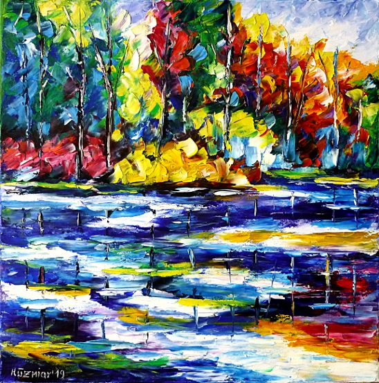 oilpainting,modern,impressionism,artdeco,abstractpainting,landscapepainting,springlake,lakescape,springfeelings,forestpainting,colorfullandscape,colorfulpainting,foreststream,springmood,springpainting,springlandscape,springforest,springcolors,springday,peacefulmood,peacefulday,calmday,quietday,waterreflections,recreation,relaxday,3dpaintings,3doilpaintings,3dpictures,3dimages,3dartworks,lively,colorful