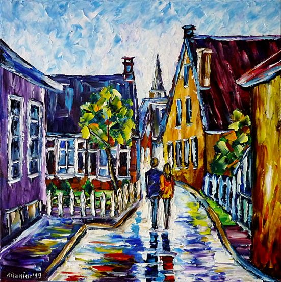 oilpainting,modern,impressionism,artdeco,abstractpainting,villagelandscape,villageidyll,countryidyll,villageroad,villagestreet,Krummhoern,ostfriesland,emden,Langwurtendorf,northgermany,oldhouses,oldvillage,germanvillage,germanlandscape,germanidyll,lovecouple,lovers,walkinghandinhand,countrylove,villagelove,3dpaintings,3doilpaintings,3dpictures,3dimages,3dartworks,lively,colorful