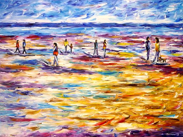 oilpainting,modern,impressionism,artdeco,abstractpainting,beachscene,peoplebythesea,seascape,beachpainting,womanwithadog,awalkonthebeach,bluesky,motherwithchildonthebeach,yellowbeach,blueandyellow,beachwalk,seapainting,waterpainting,pinkpainting,pinkpicture,pinkartwork,3dpaintings,3doilpaintings,3dpictures,3dimages,3dartworks,lively,colorful