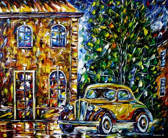 oilpainting,modern,impressionism,abstractpainting,OneTwenty,PackardEight,oneten,120b998,120b997,120c,packard14,packard15,Limousine,Cabriolet,ClubCoupé,packardsix,cityscape,cityscene,carlovers,classiccarlovers,lively,colorful