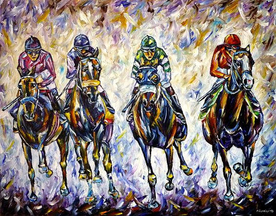 oilpainting,modern,impressionism,artdeco,abstractpainting,horseracing,horsesports,equestrian,horselove,horselovers,horsepainting,horsesportrait,jockey,wildlifepainting,sportspainting,riding,rider,3dpaintings,3doilpaintings,3dpictures,3dimages,3dartworks,lively,colorful