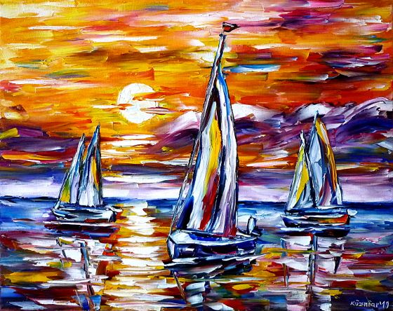 sailingregatta,sailingboats,sailboatsatthesea,sailboatsatsunset,sunsetpainting,eveningmoodatthesea,seascape,seapainting,waterpainting,yellowredpinkblue,boatspainting,yellowsky,redskyatthesea,seaintheevening,sailingsports,boatsports,paletteknifeoilpainting,modernart,impressionism,artdeco,abstractpainting,livelypainting,colorfulpainting,yellowpainting,yellowcolours,livelycolours,3dpainting,3doilpainting,3dpicture,3dimage,3dartwork