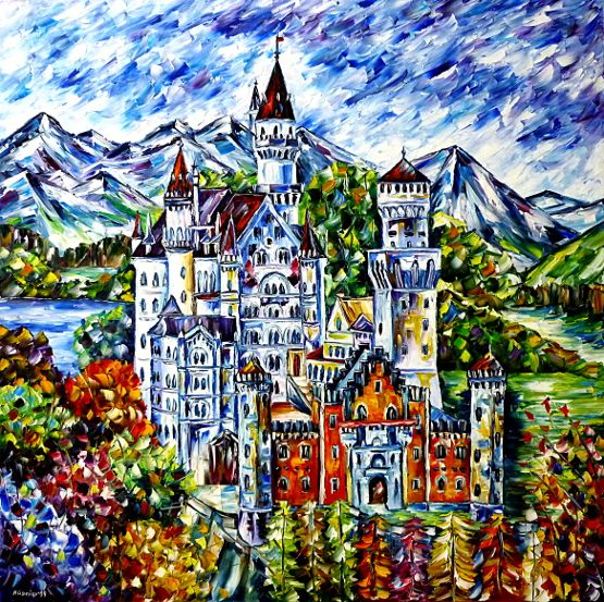 kingludwigII,kingludwig2,allgaeu,knightcastle,middleages,fairytalecastle,germanculture,germanromantic,richardwagner,schwangau,bavaria,fuessen,germanpainting,germanlandscape,germany,mountainpainting,germanmountains,mountainlandscape,neuschwansteincastlepainting,paletteknifeoilpainting,modernart,impressionism,artdeco,abstractpainting,livelypainting,livelycolours,colorfulpainting,3dpainting,3doilpainting,3dpicture,3dimage,3dartwork